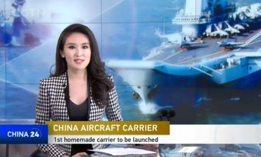First made-in-China aircraft carrier to be launched