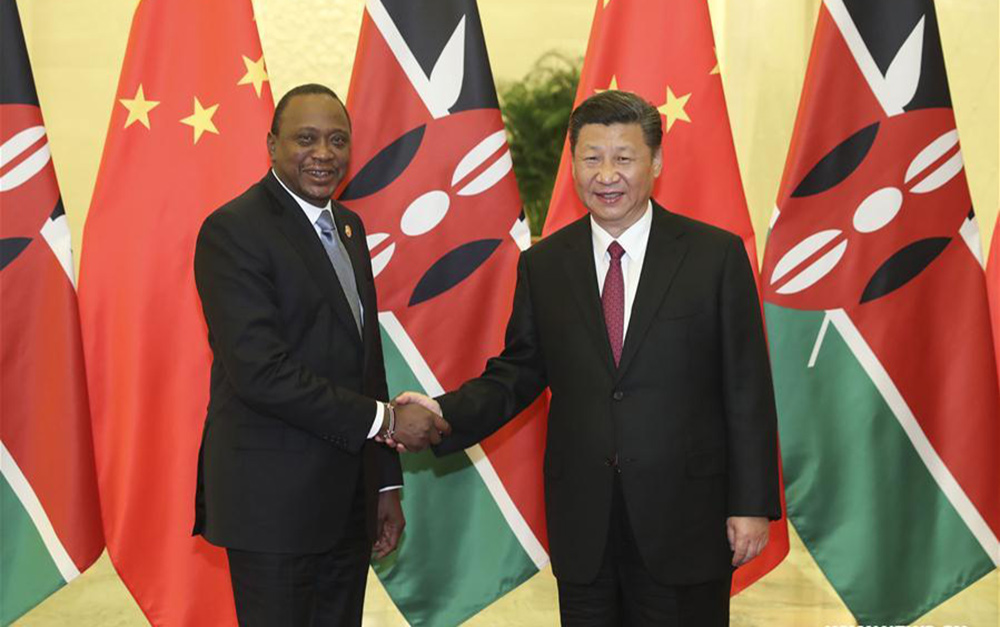 Xi says China willing to boost bilateral ties with Kenya to new stages