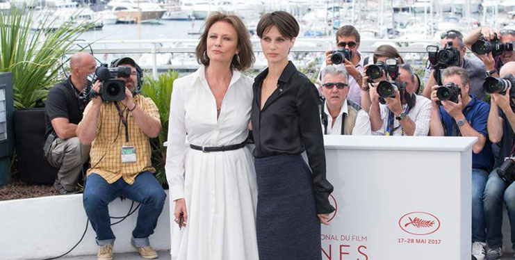 """Photocall of film """"The Double Lover"""" in Cannes"""