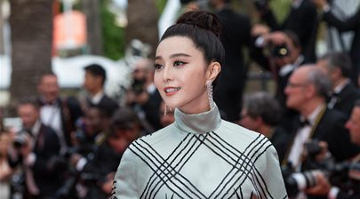 """Fan Bingbing poses for screening of """"Amant Double"""" in Cannes"""