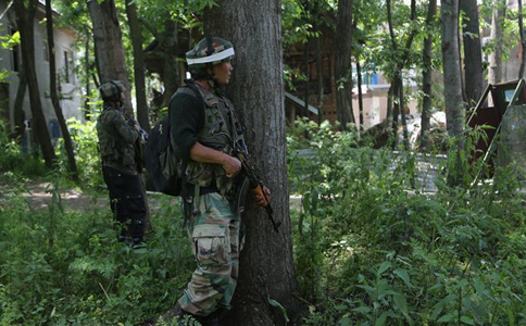 Top militant commander's killing triggers fresh anti-India protests in Kashmir