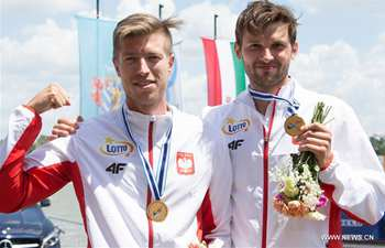 Awarding ceremony held for winners of ICF Canoe Sprint World Cup