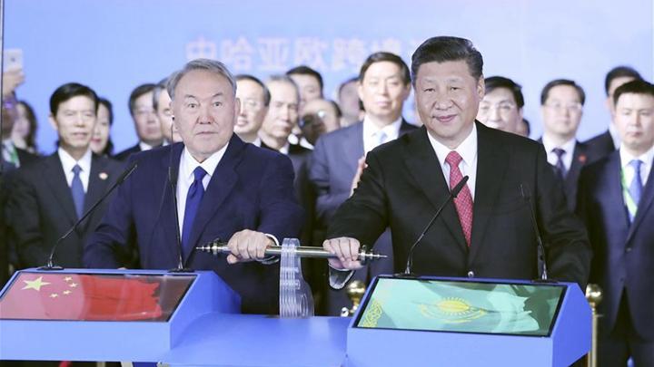 Better transport links between China and Kazakhstan vital, say both presidents