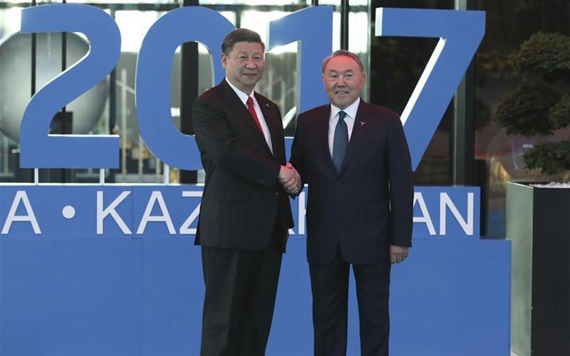 Spotlight: Xi's Kazakhstan trip cements broader B&R, SCO cooperation