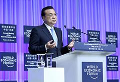 Premier Li Keqiang attends Summer Davos Forum in Tianjin