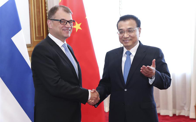 China, Finland pledge further cooperation in Arctic affairs, sustainable development