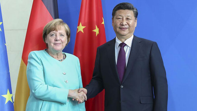 China, Germany pledge to strengthen ties