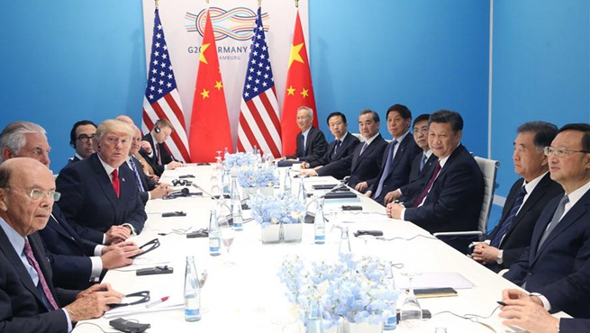 Xi, Trump meet on ties, hot-spot issues on G20 sidelines
