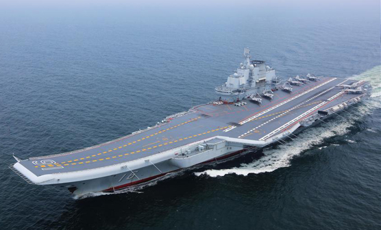 Aircraft carrier Liaoning returns to port city after 5-day visit in HK