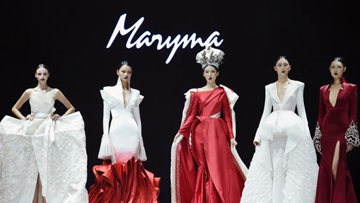 Creations of ethnic minorities presented at fashion show in Yunnan