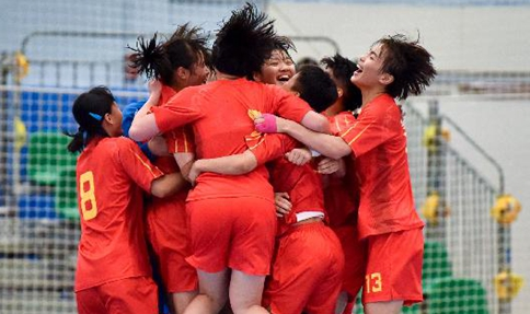 Asian Women's Junior Handball Championship: China beats Japan 26-24