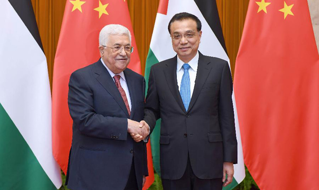 China to enhance cooperation with Palestine on trade, infrastructure