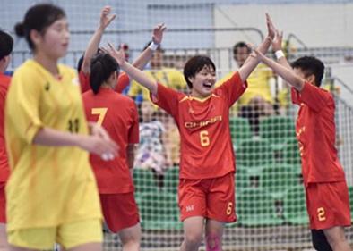 Asian Women's Junior Handball Championship: China beats Japan 26-24