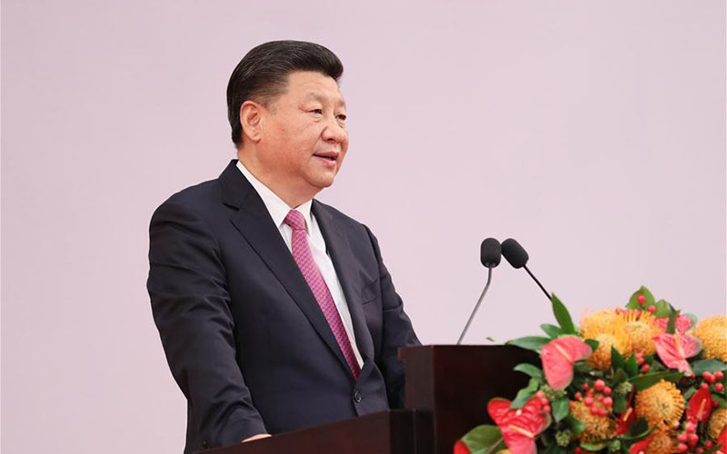 """Xi draws """"red line"""" for handling mainland-HK relations"""