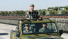 Commentary: Military parade demonstrates CPC's determination of building a strong  army