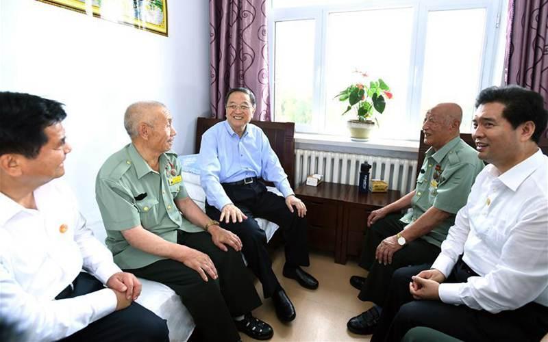 Central delegation visits residents in Inner Mongolia