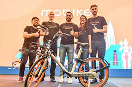 China's Mobike enters Malaysian market as bike sharing gains traction in Southeast Asia