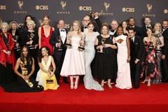 """The Handmaid's Tale,"" ""Veep"" big winners at 69th Primetime Emmy  Awards"