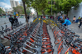 China's bike-hire industry creates 70,000 new jobs