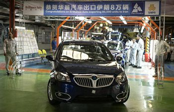 China's Brilliance Auto exports 80,000 units to Iran