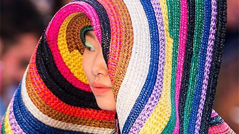 Missoni collection staged at Milan Fashion Week