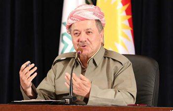 Kurdish President Barzani reconfirms holding referendum as planned