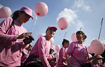 10th Pink Ribbon Charity Walk held in Switzerland