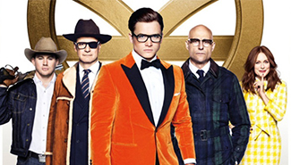 """""""Kingsman: The Golden Circle"""" tops North American box office in opening weekend"""