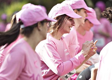 10th Pink Ribbon Charity Walk held in Switzerland