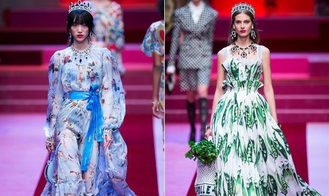 Dolce&Gabbana Spring/Summer 2018 presented at Milan Fashion Week