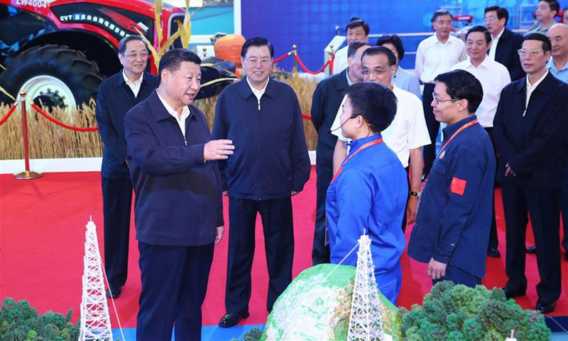 Xi calls for persistently pursuing Chinese dream of national rejuvenation