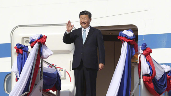 Chinese President Xi begins state visit to Laos