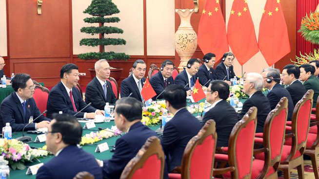 China, Vietnam sign MOU on cooperation of development initiatives
