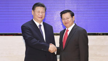 Chinese president meets Lao PM on ties