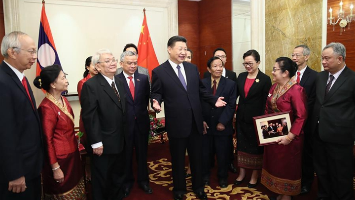 Chinese president urges young generations to advance China-Laos  friendship