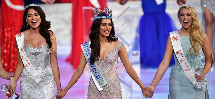 India's Manushi Chhillar crowned Miss World 2017 in Sanya