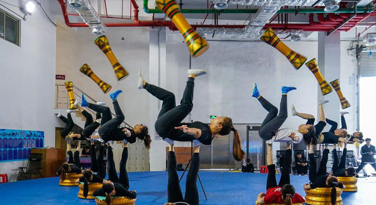 4th China Int'l Circus Festival held in Zhuhai, China's Guangdong