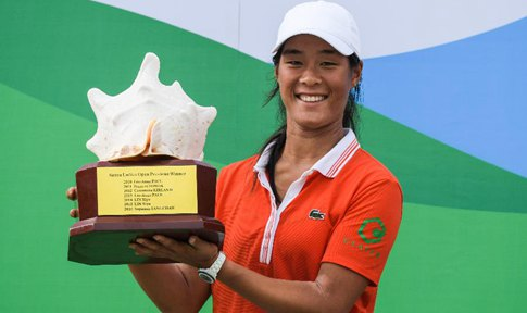 French golfer Boutier wins in Sanya