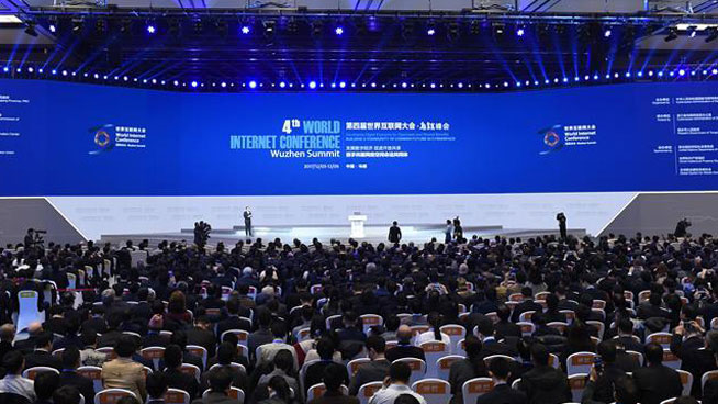 Chinese president sends congratulations as event opens for World Internet Conference 2017