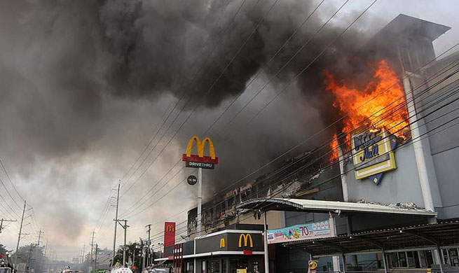 37 killed in Philippines shopping mall fire