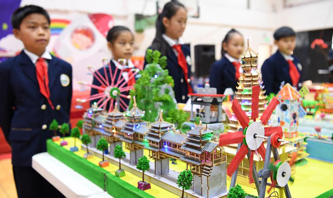Handcrafts contest final held in south China's Liuzhou