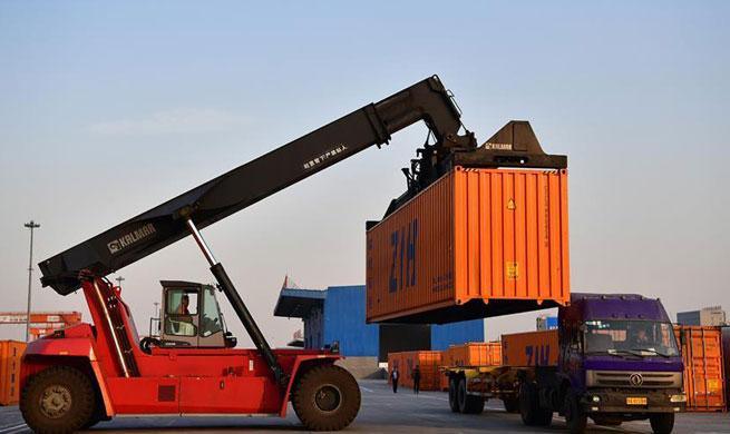 Zhengzhou-Europe railway express hits 1,000 journeys