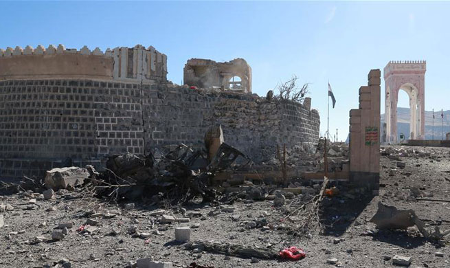 Family of 9 members killed in Saudi-led airstrikes in Yemen's Sanaa