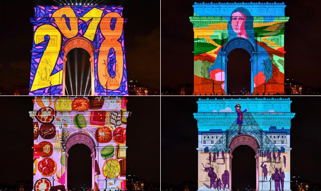 Paris welcomes year 2018