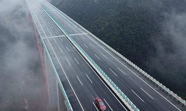 New highway linking Zunyi, Guiyang opens to traffic