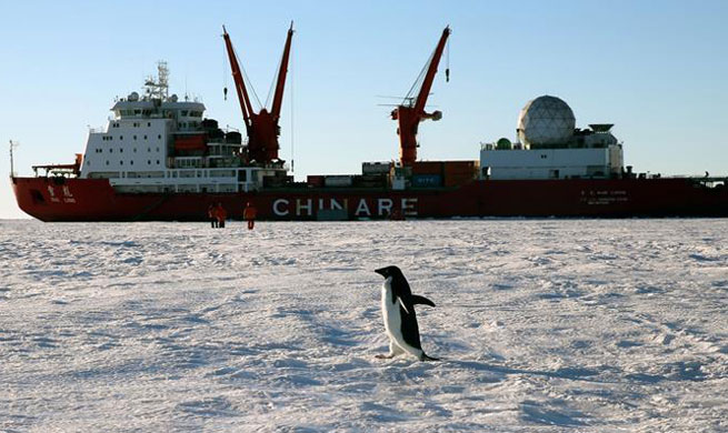China's icebreaker Xuelong conducts 34th Antarctic expedition