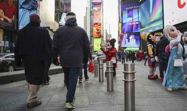 New York City to install 1,500 security barriers