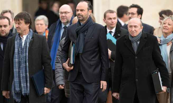First weekly cabinet meeting of year 2018 held in Elysee Palace