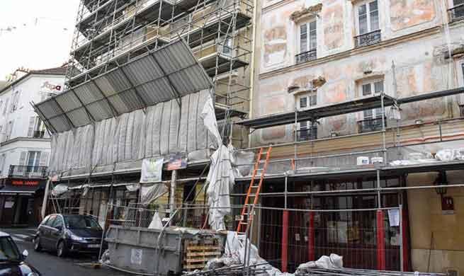At least 9 injured in storm Eleanor in Paris