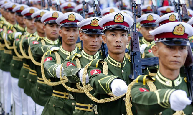 Myanmar celebrates 70th Independence Day